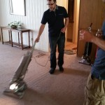 Houston vacuuming with his G3